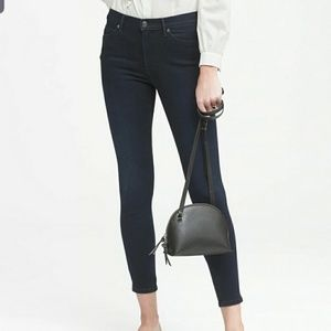NEW Banana Republic High Rise Skinny Ankle Jeans